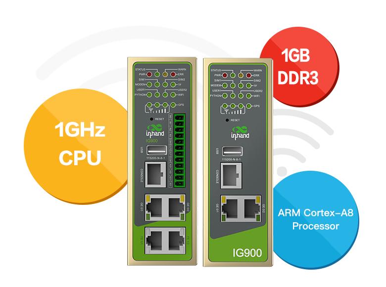 InGateway902 - IoT Edge Computing Gateway - InHand Networks