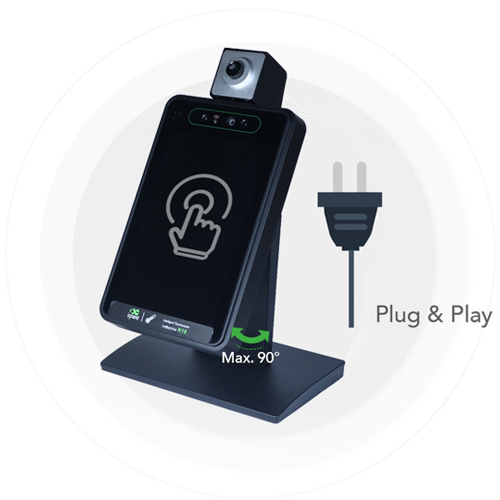 plug play-temperature scanning kiosk